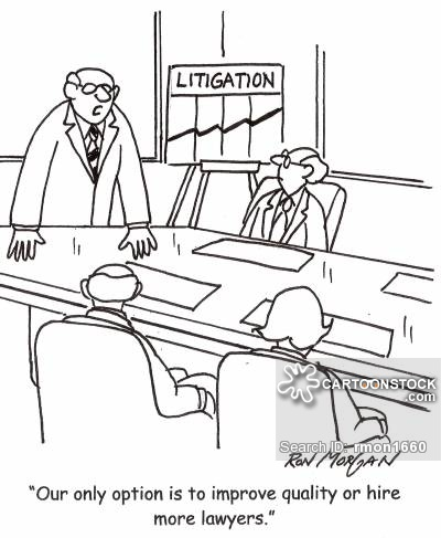 'Our only option is to improve quality or hire more lawyers.'
